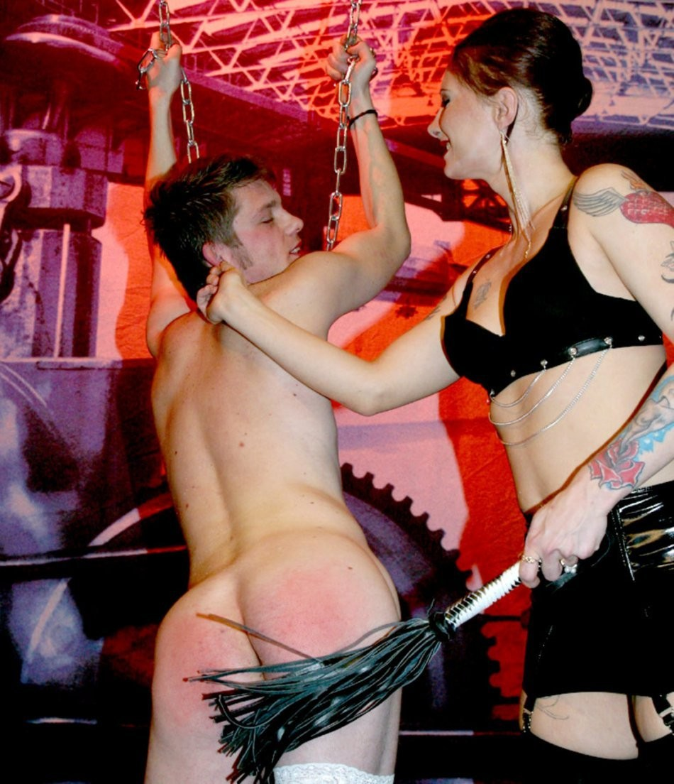 gothic girls with strapons – BDSM